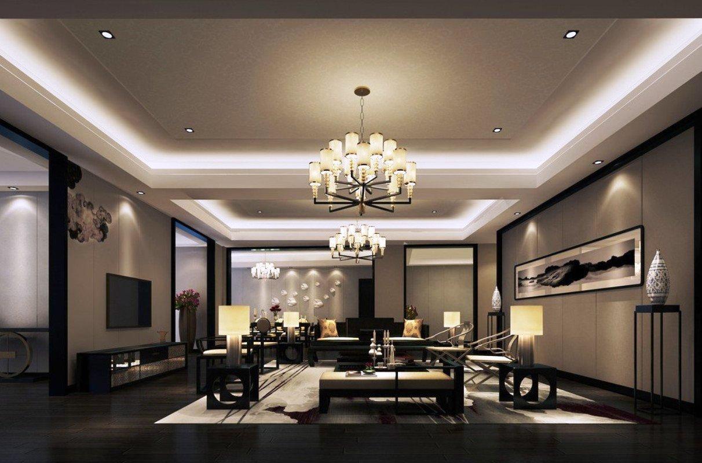 37351 Интересные варианты оформления освещения для комнаты