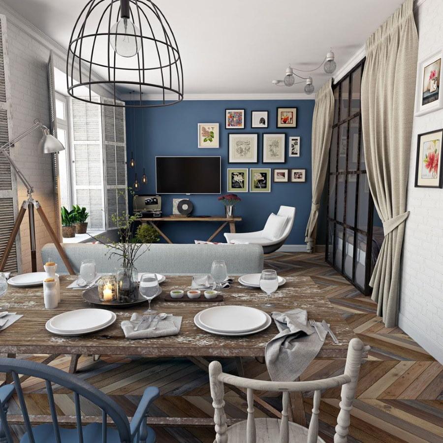 38638 Основные принципы в создании дизайна гостиной-столовой