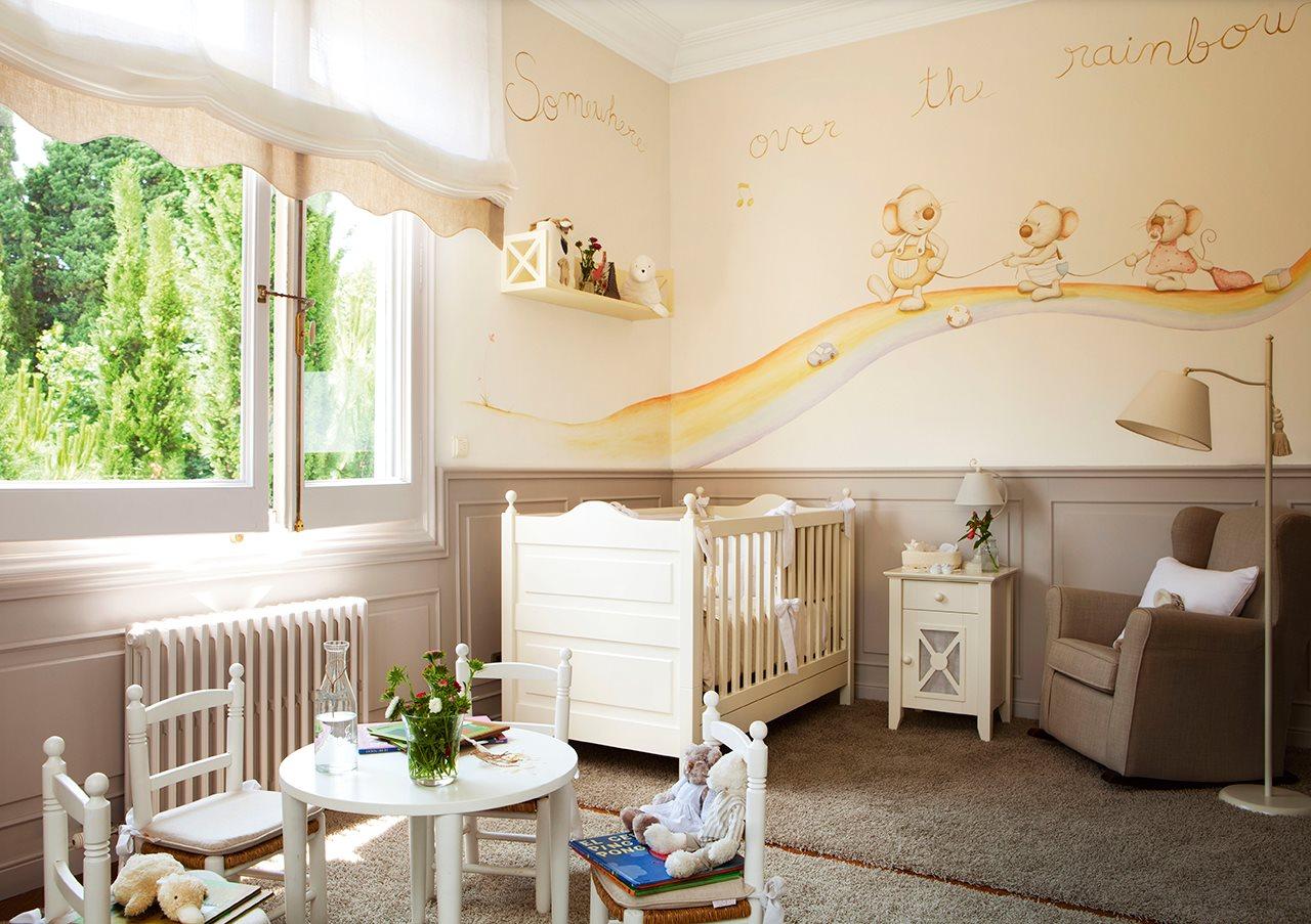 39402 Особенности оформления дизайна комнаты для новорожденных малышей