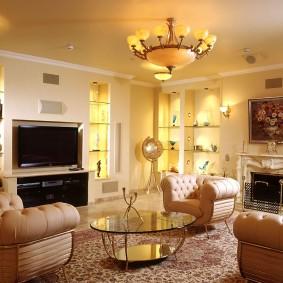 освещение комнат в квартире варианты идеи