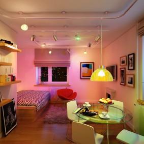 освещение комнат в квартире идеи варианты