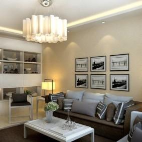 освещение комнат в квартире виды фото