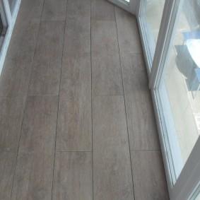 отделка балкона ламинатом фото варианты