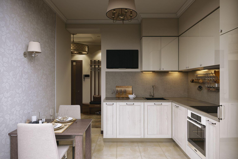 ремонт на кухни 6 квадратных метров