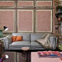 36979 Способы комбинирования и дизайна обоев в интерьере квартиры