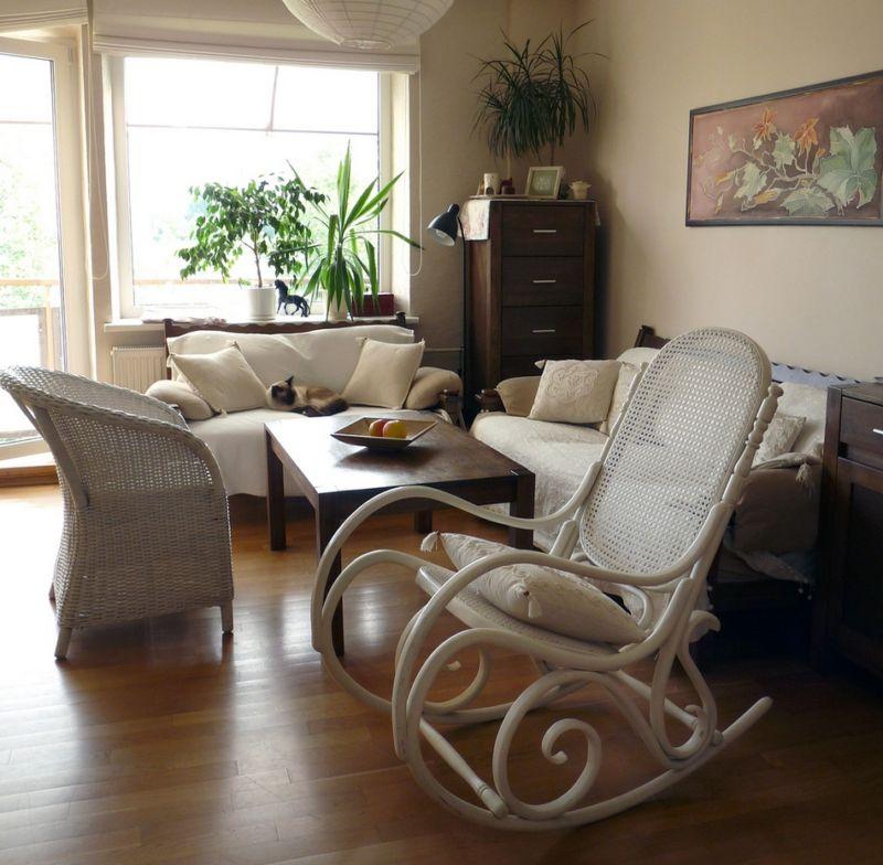 Меблировка небольшой зоны отдыха в городской квартире