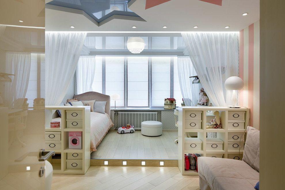 39235 Варианты и методы оформления дизайна детской комнаты на балконе
