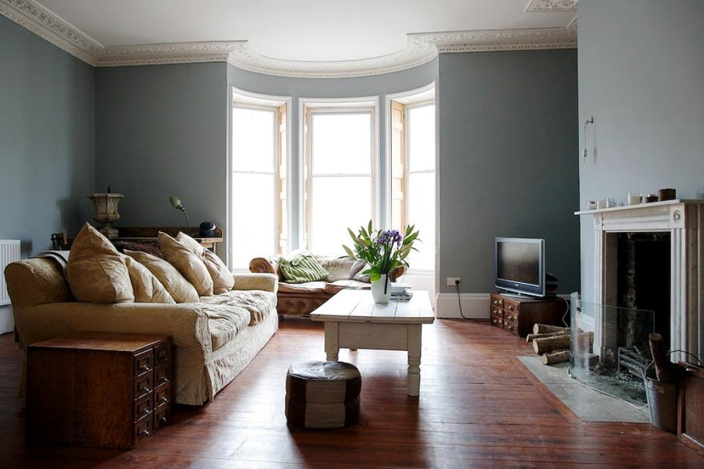 цвет стен в гостиной идеи