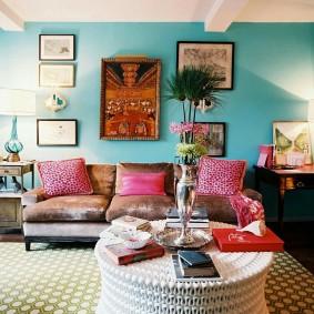 цветовая гамма для гостиной