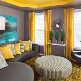 цветовая гамма для гостиной идеи дизайна