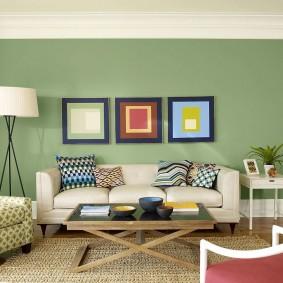 цветовая гамма для гостиной идеи декора