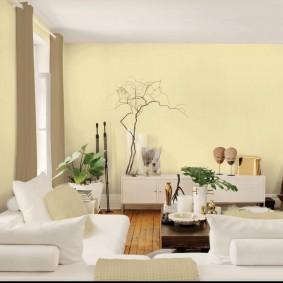 цветовая гамма для гостиной идеи интерьер