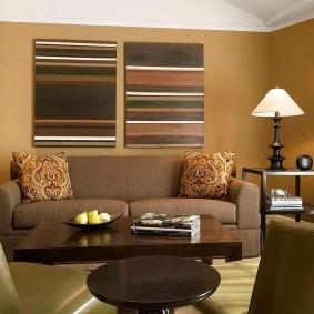 цветовая гамма для гостиной фото идеи