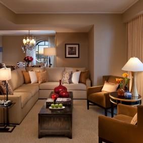 цветовая гамма для гостиной варианты идеи