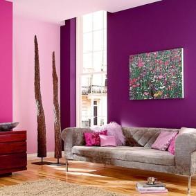 цветовая гамма для гостиной дизайн