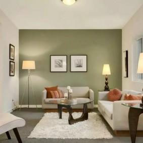 цветовая гамма для гостиной виды фото