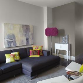 цветовая гамма для гостиной дизайн фото