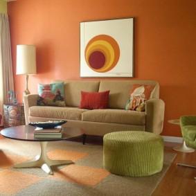 цветовая гамма для гостиной идеи дизайн