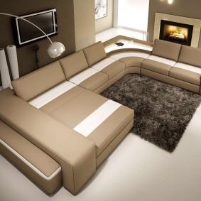 диван в гостиную идеи дизайна
