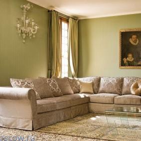 диван в гостиную фото декора