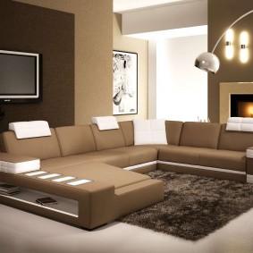 диван в гостиную идеи декора