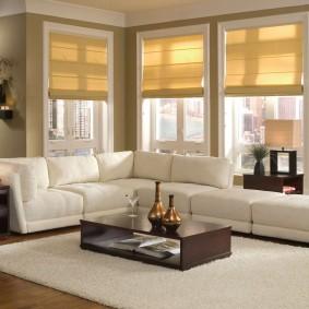 диван в гостиную интерьер
