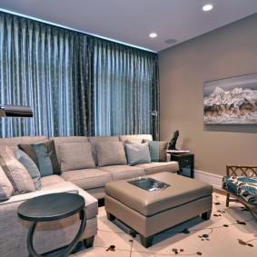диван в гостиную фото оформления