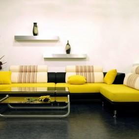 диван в гостиную фото видов