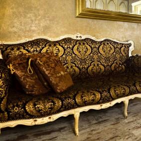 диван в гостиную кабриоль