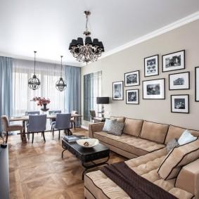 диван в гостиную классика