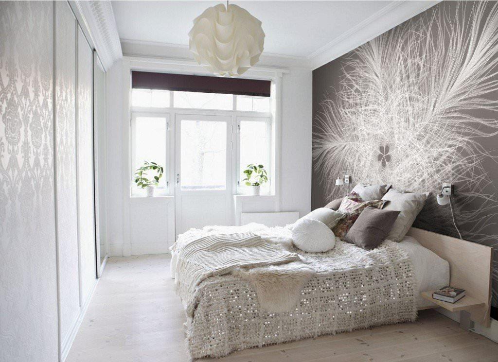 светлый дизайн спальни фото