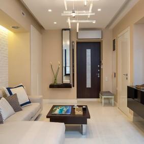 Декор гостиной в малогабаритной квартире
