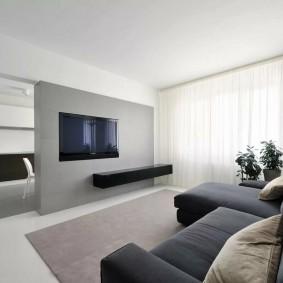 Меблировка квартиры в стиле минимализма