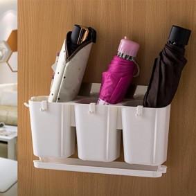 Пластиковые кармашки для складных зонтов