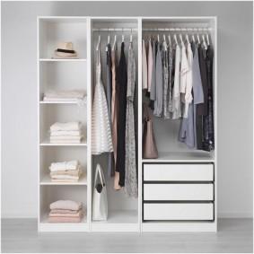 Бюджетный вариант наполнения купейного шкафа