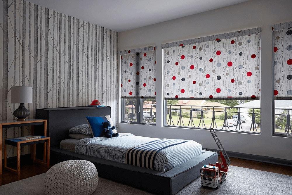 ролеты на окна из ткани