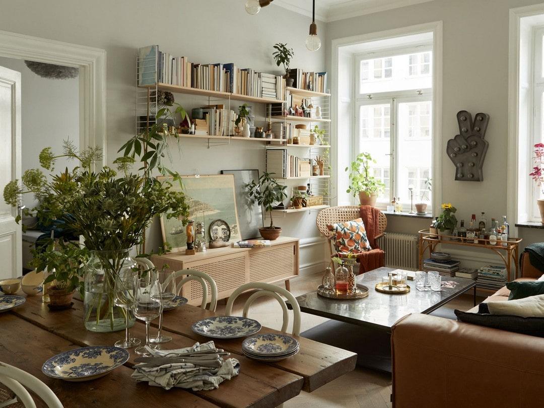 Как уместить классику, модерн и хай-тек в одной квартире