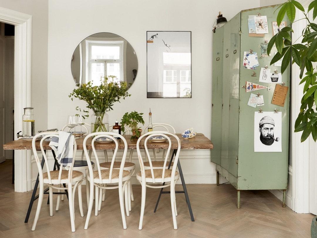 оформление обеденной зоны в квартире