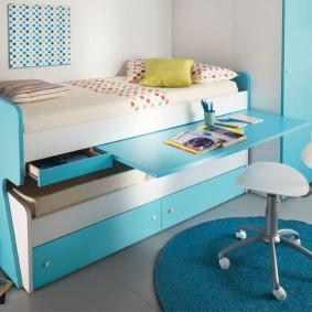 необычная детская кровать дизайн
