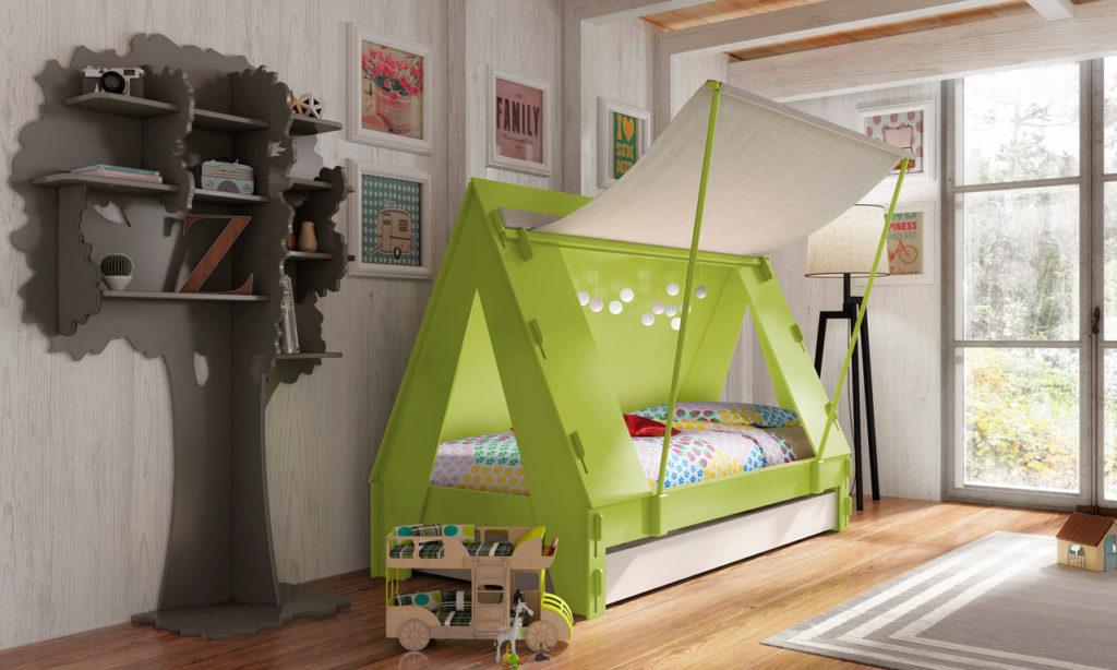 необычная детская кровать идеи