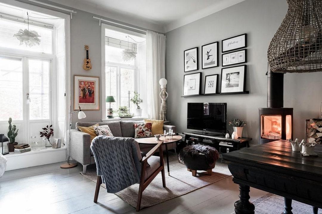 Необычная квартира в Швеции