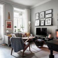 42076 Необычная квартира в Швеции