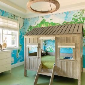 необычные детские кровати идеи дизайна