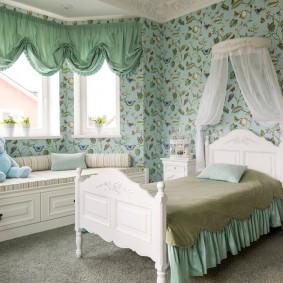 необычные детские кровати декор