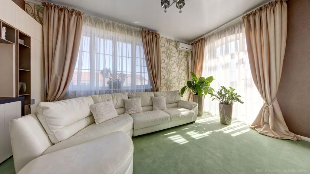40168 Правила выбора дизайна и стиля штор в интерьере гостиных комнат