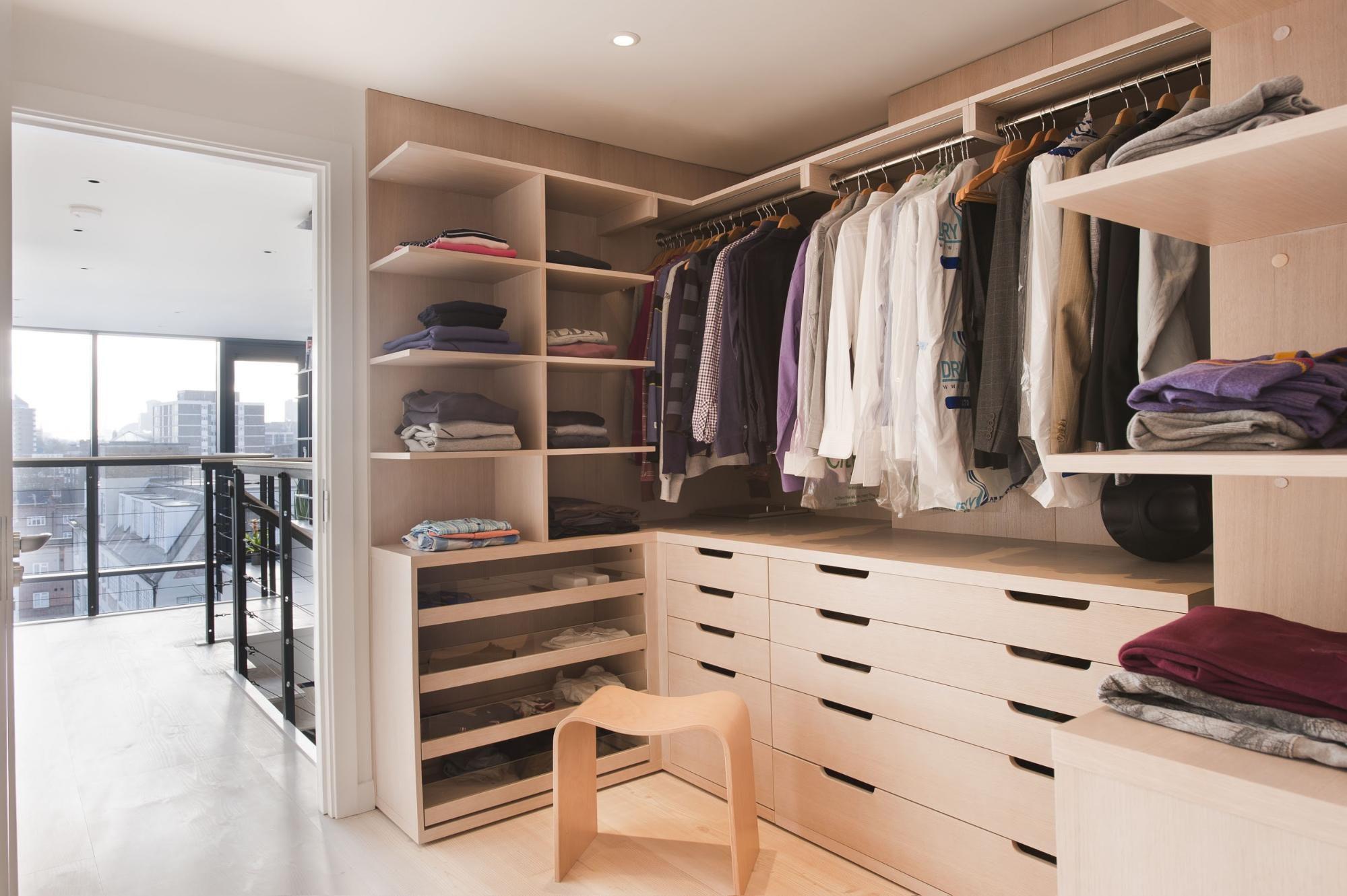 40648 Примеры наполнения и организации шкафа или гардеробной