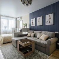 41447 Советы по оформлению дизайна в однокомнатных квартирах