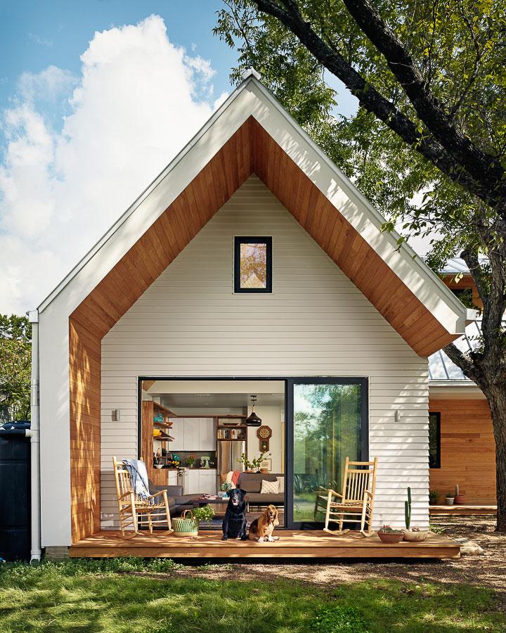 Современный дом дача