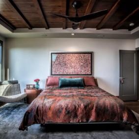 современная отделка спальни интерьер идеи
