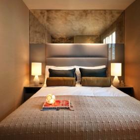 современная отделка спальни оформление идеи